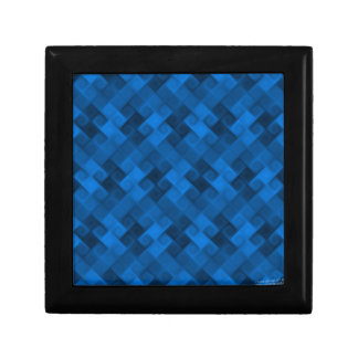 Blue Pattern Gift Box