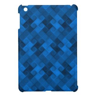 Blue Pattern iPad Mini Covers