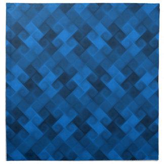 Blue Pattern Napkin