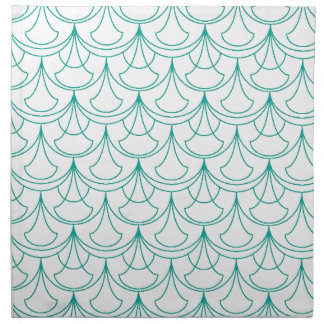 Blue Pattern Napkin