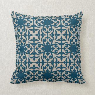 Blue Pattern Pillow