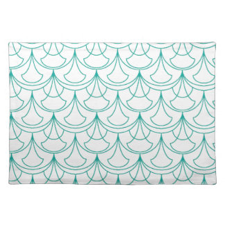 Blue Pattern Placemat