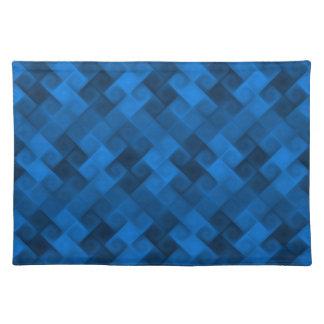 Blue Pattern Placemat
