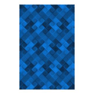 Blue Pattern Stationery