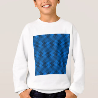 Blue Pattern Sweatshirt