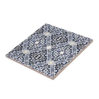 Blue Pattern Tile