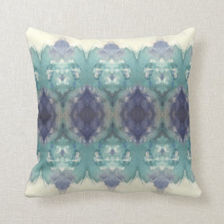 Blue Patterned Cushion