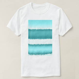 blue patterns T-Shirt