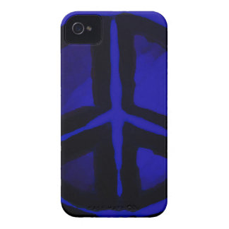 Blue Peace iPhone 4 Cover