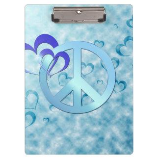 Blue Peace Clipboard