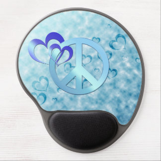 Blue Peace Gel Mouse Pad