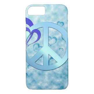 Blue Peace iPhone 7 Case