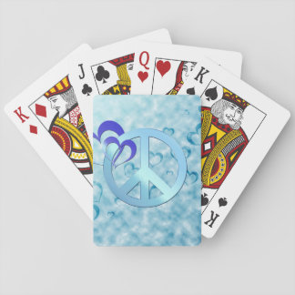 Blue Peace Playing Cards