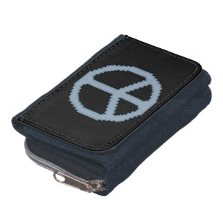 Blue Peace Sign Wallets