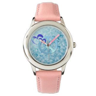 Blue Peace Wristwatches