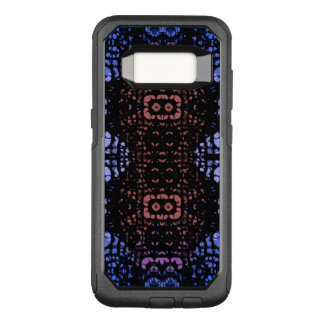 Blue Peach Abstract OtterBox Commuter Samsung Galaxy S8 Case
