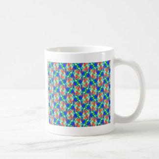 Blue-Peach-Green Mug