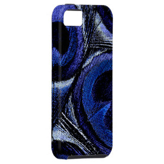 Blue Peacock Feathers iPhone 5 Case