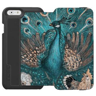 blue peacock incipio watson™ iPhone 6 wallet case