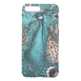 blue peacock iPhone 8 plus/7 plus case