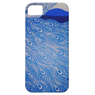 Blue Peacock Mosaic Case For The iPhone 5