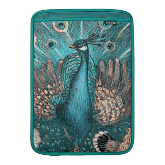 blue peacock sleeve for MacBook air