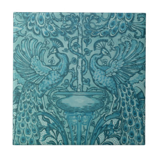Blue Peacock tile
