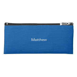 Blue Pencil Case - Personalized Boy's Pencil Case