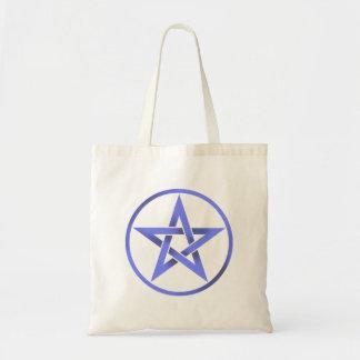 Blue Pentagram Pentacle