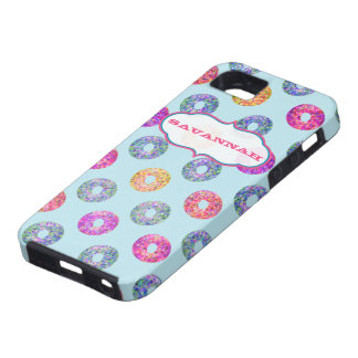 Blue Personalized Candy iPhone Cover- iPhone 5 Cover