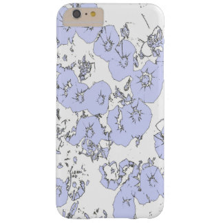 Blue Petunias Barely There iPhone 6 Plus Case