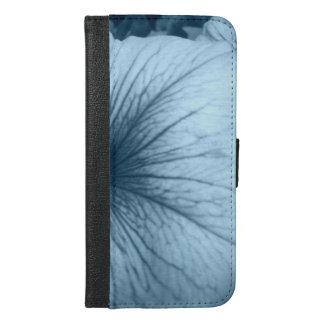 Blue Petunias iPhone 6/6s Plus Wallet Case