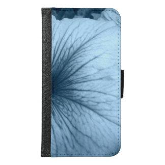 Blue Petunias Samsung Galaxy S6 Wallet Case