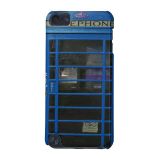 blue phone booth iPod touch (5th generation) covers