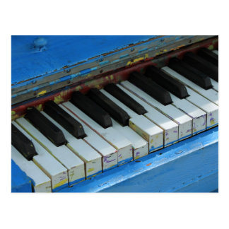 Blue Piano Postcard