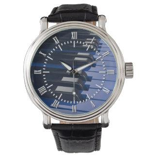Blue Piano Watch