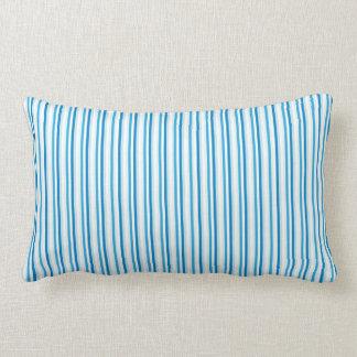 Blue Pin Stripes Lumbar Pillow