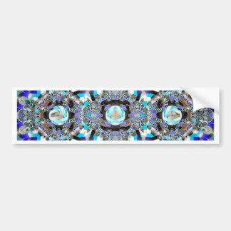 Blue Pinball Bumper Sticker