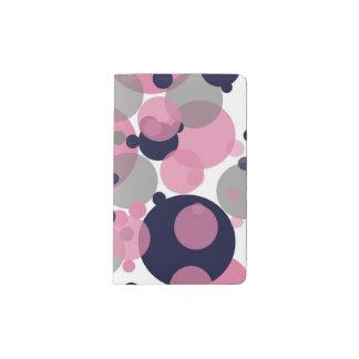 Blue Pink Bubbles Decorative Designer Journal