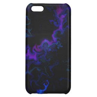 Blue & Pink Marble Digital Art iPhone 5C Covers