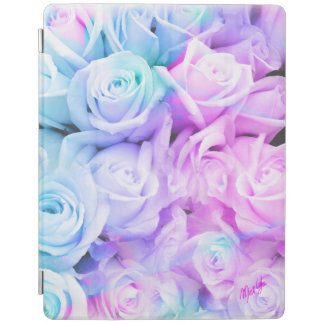 Blue Pink Ombre Floral iPad 2/3/4 Smart Cover iPad Cover
