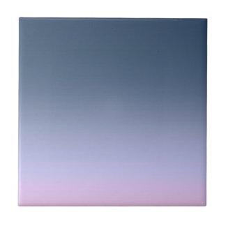 Blue-pink Ombre . Tile