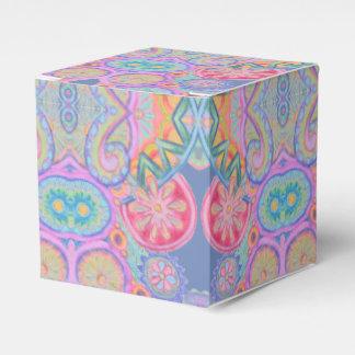 blue pink paisley swirls box