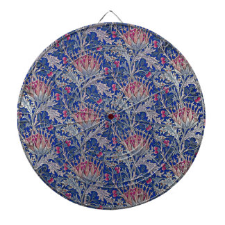 blue pink thistle dartboard