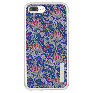 blue pink thistle incipio DualPro shine iPhone 8 plus/7 plus case