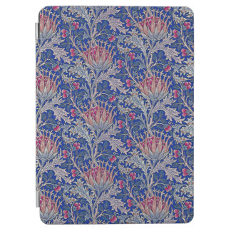 blue pink thistle iPad air cover
