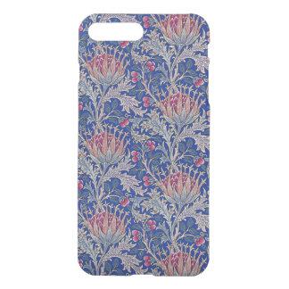 blue pink thistle iPhone 8 plus/7 plus case