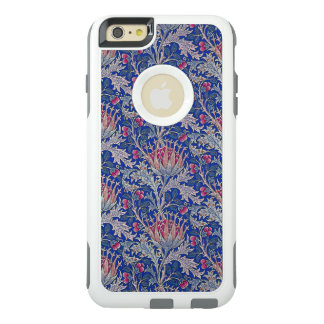 blue pink thistle OtterBox iPhone 6/6s plus case