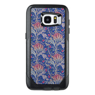 blue pink thistle OtterBox samsung galaxy s7 edge case