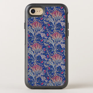 blue pink thistle OtterBox symmetry iPhone 8/7 case